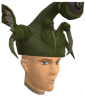 The ranger hat chat head.