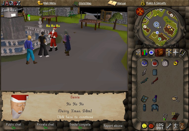 Christmas Event Runescape 2020 2004 Christmas event   The RuneScape Wiki