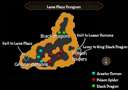 Lava Maze Dungeon map.png