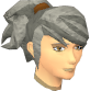 Female hair ponytail spiked.png