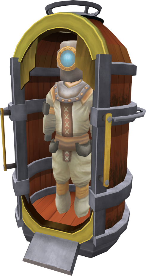 Mermaid hunter suit.png: RS3 Inventory image of Mermaid hunter suit
