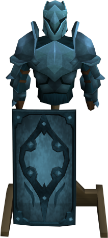 Rune armour stand.png: RS3 Inventory image of Rune armour stand