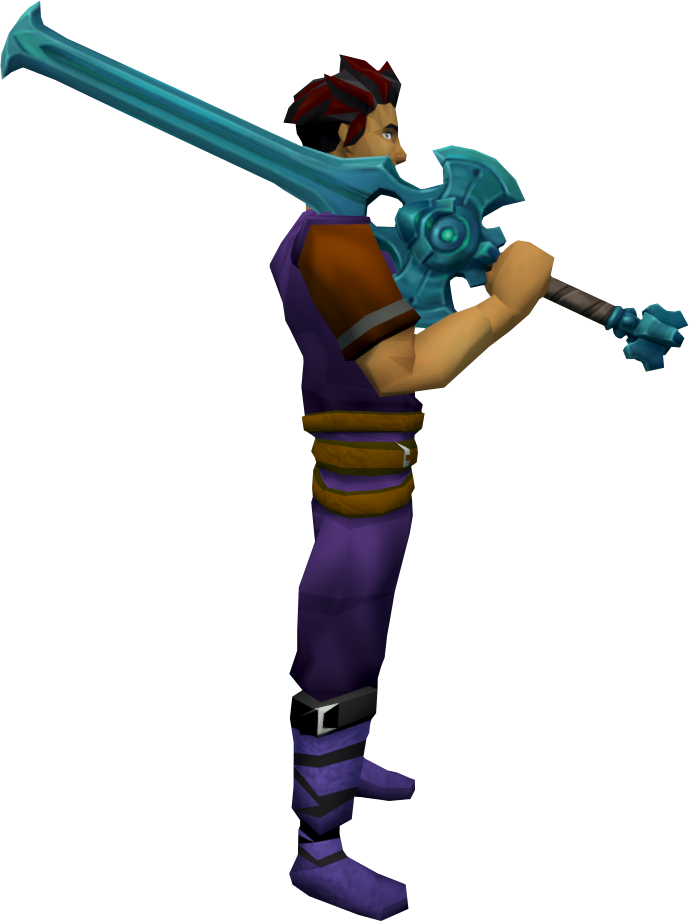 Elder Rune 2h Sword The Runescape Wiki
