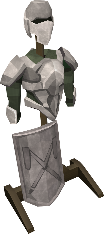 Detailed decorative armour stand.png: RS3 Inventory image of Detailed decorative armour stand