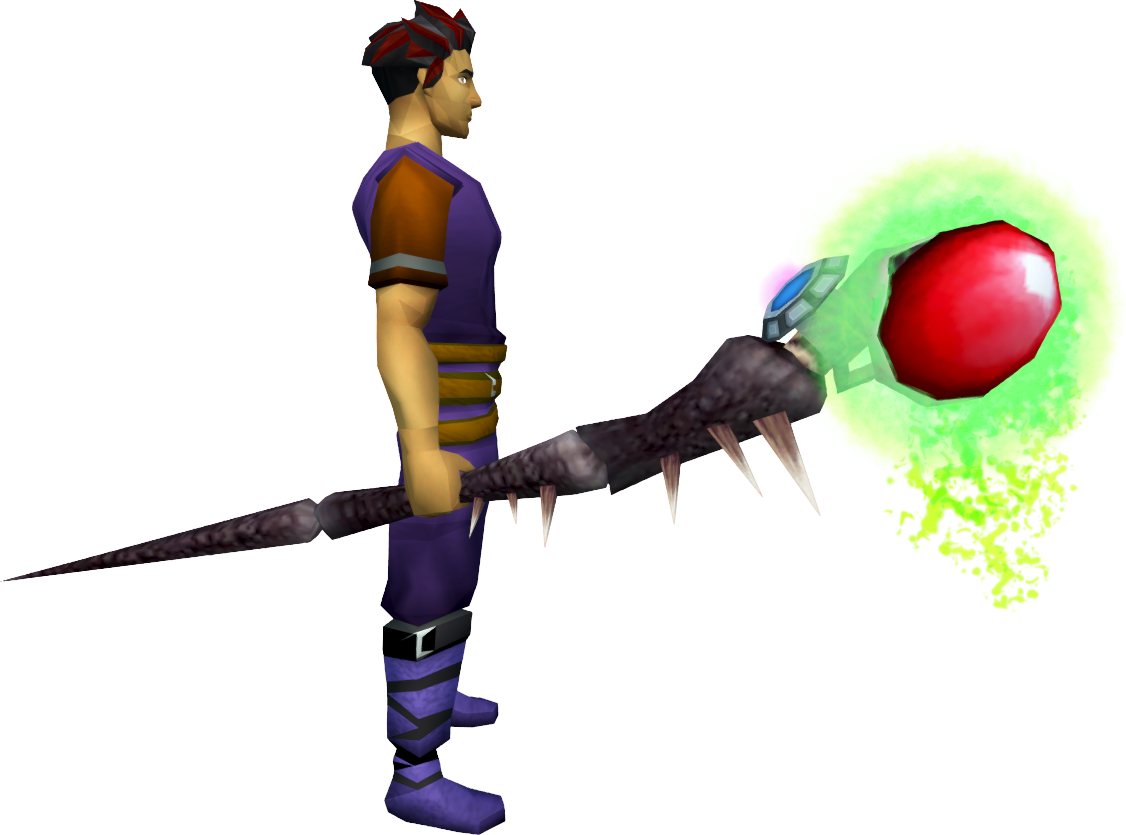 Augmented Noxious Staff The Runescape Wiki