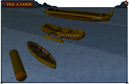 Canoe selection interface.png
