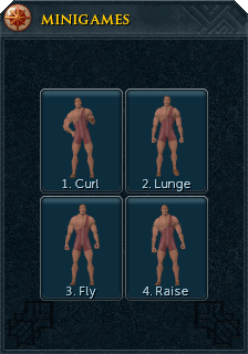 The body building interface