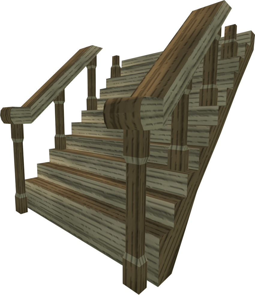 Oak staircase.png: RS3 Inventory image of Oak staircase