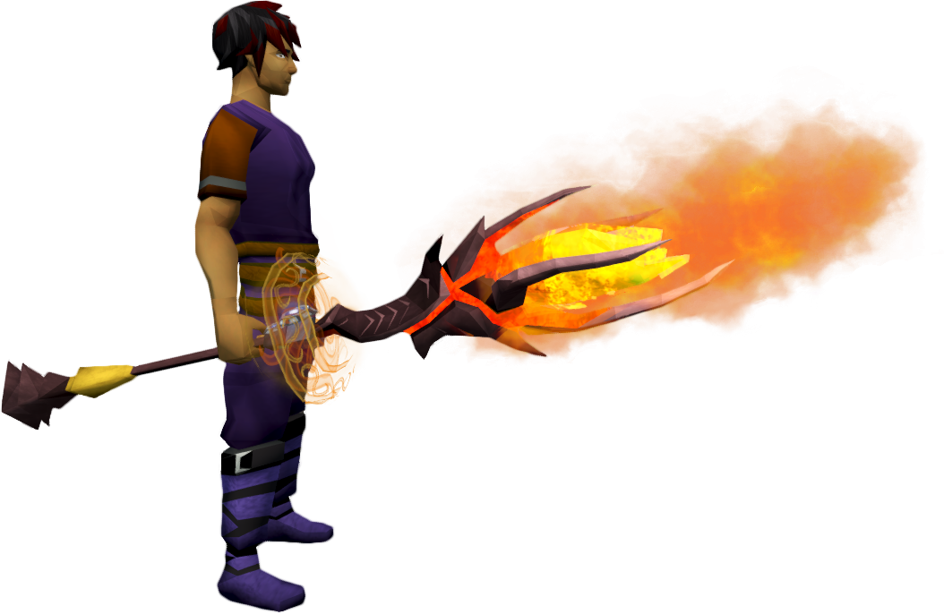 Augmented Staff Of Limitless Fire The Runescape Wiki