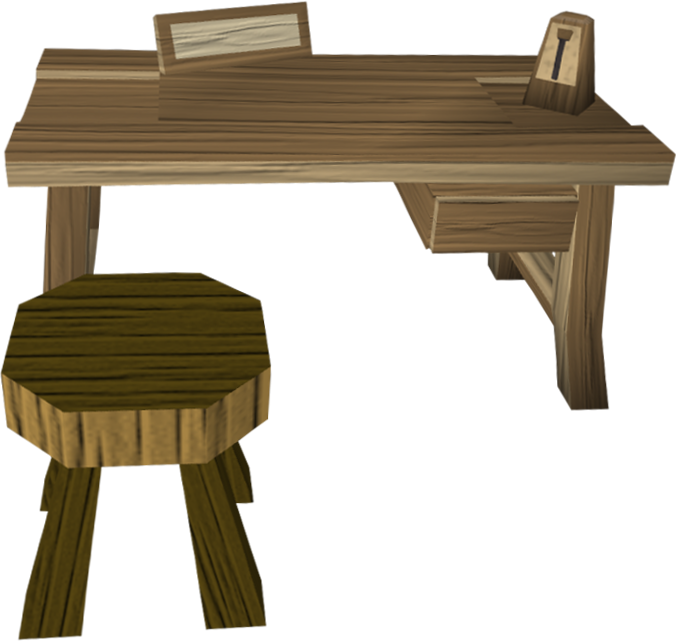 Crafting table 1.png: RS3 Inventory image of Crafting table 1
