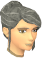 Female hair bun with fringe.png
