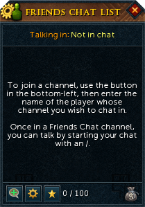 Friends Chat - The RuneScape Wiki