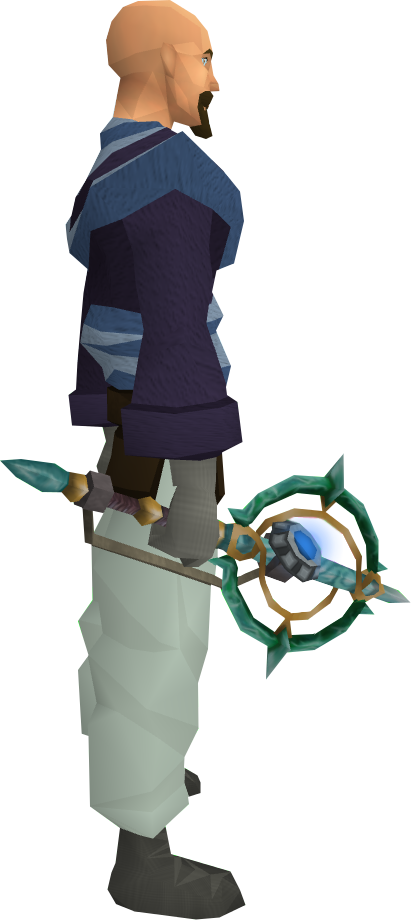 Augmented Attuned Crystal Wand The Runescape Wiki