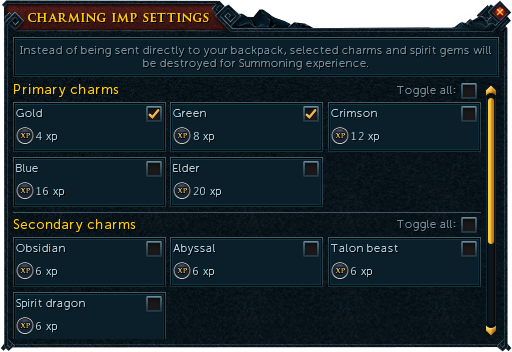 Charming imp - The RuneScape Wiki