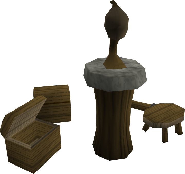 Pluming stand.png: RS3 Inventory image of Pluming stand