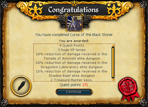 Curse of the Black Stone reward.png