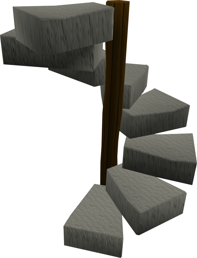 Spiral staircase.png: RS3 Inventory image of Spiral staircase