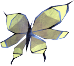 Golden butterfly.png: RS3 Inventory image of Golden butterfly