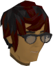 Stylish glasses (black) chathead.png