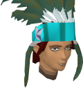Feather headdress (charged) (stripy) chathead.png