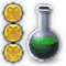 High Level Alchemy.png: RS3 Inventory image of High Level Alchemy