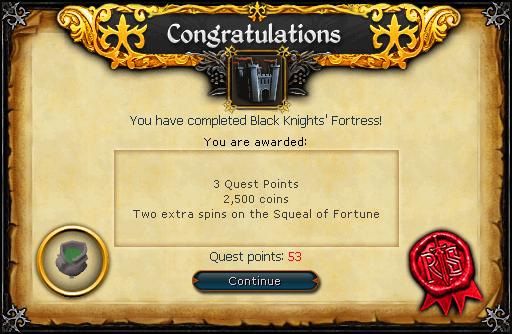 black knight fortress runescape