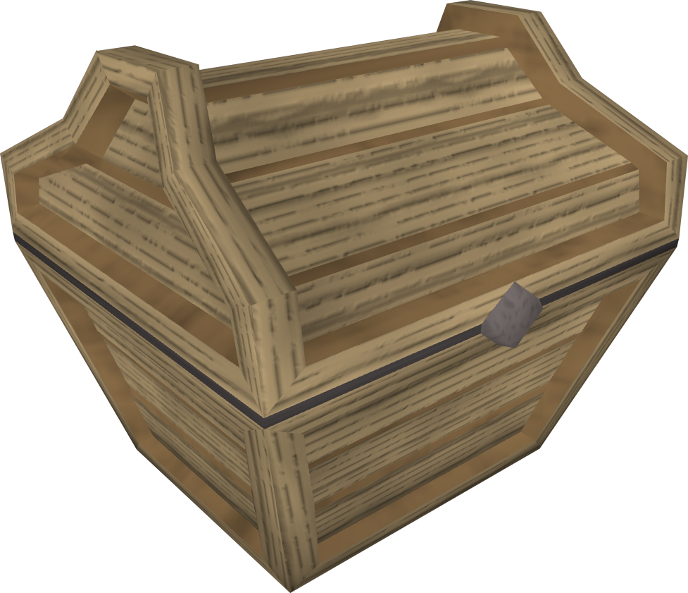 Oak prize chest.png: RS3 Inventory image of Oak prize chest