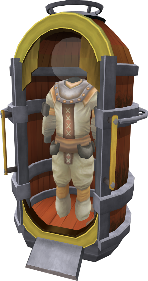 Oyster hunter suit.png: RS3 Inventory image of Oyster hunter suit