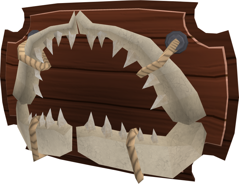 Shark jaw.png: RS3 Inventory image of Shark jaw