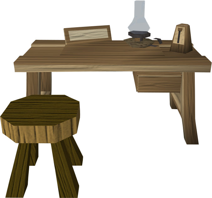 Crafting table 2.png: RS3 Inventory image of Crafting table 2