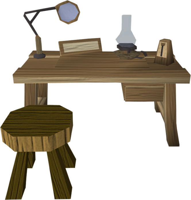 Crafting table 3.png: RS3 Inventory image of Crafting table 3