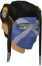 Highland war paint (green, female) chathead.png