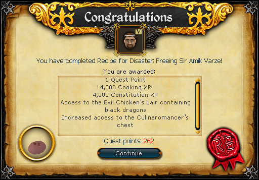 Recipe for Disaster (Freeing Sir Amik Varze) reward.png