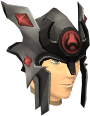 Relic helm of Zamorak chathead.png