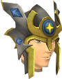 Relic helm of Saradomin chathead.png