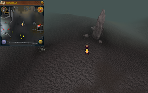 Scan clue deep Wilderness south-east of Wilderness Agility Course.png