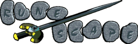 The RuneScape Classic logo from 2002-2004