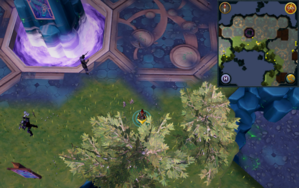 Scan clue Heart of Gielinor north of The Heart (right side).png