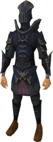 Anima core of Zaros armour equipped.png: Anima core body of Zaros equipped by a player