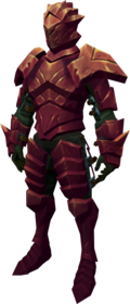 Orikalkum armour equipped (male).png: Orikalkum gauntlets equipped by a player