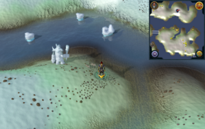 Scan clue Fremennik Isles just west of mining site on southeastern snowy island.png