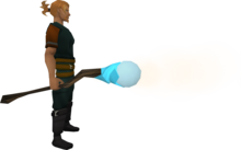 Staff of air equipped.png: Staff of air equipped by a player