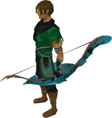 Magic shieldbow equipped.png: Magic shieldbow equipped by a player