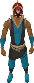Helm of Blood equipped.png: Helm of Blood equipped by a player