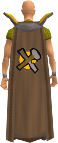 Retro crafting cape equipped.png: Crafting cape equipped by a player