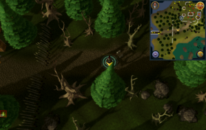 Scan clue Tirannwn east of charter ship in Port Tyras.png