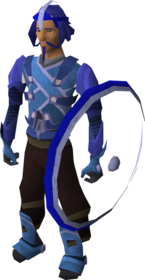 Body armour equipped (male).png: Body shield equipped by a player