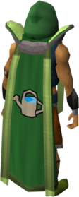 Retro farming cape (t) equipped.png: Farming cape (t) equipped by a player