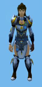 Augmented Armadyl armour equipped (female).png: Augmented Armadyl chestplate equipped by a player