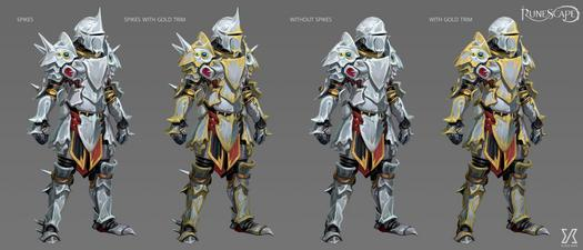 Concept Art For Masterworks Armour Variations